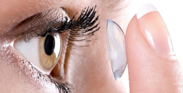 Esclarecimento para o uso de lente de contato
