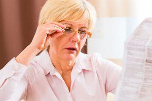 Como saber se a vista está cansada!
