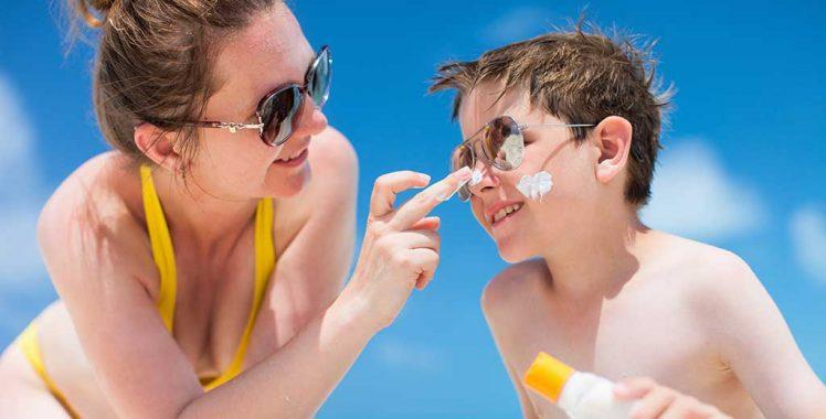 Exposição ao sol sem proteção deixa marcas na pele e nos olhos!