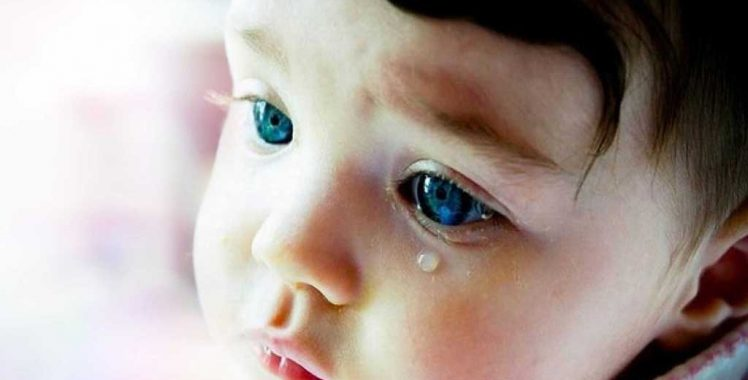 Lacrimejamento excessivo em crianças. O que pode ser?