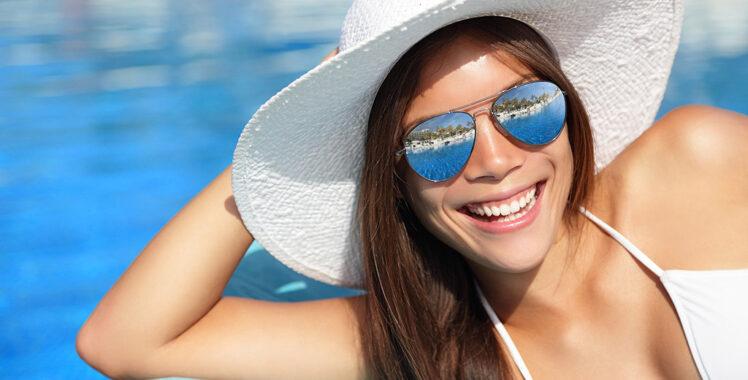 Atenção e cuidados com os olhos no verão